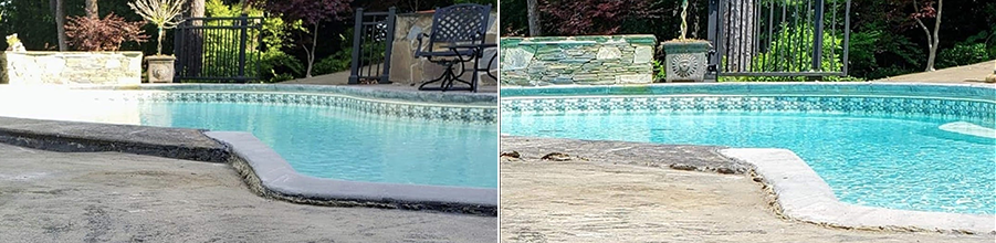 before and after concrete alignment